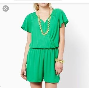 *Charming Charlie's* green romper size M